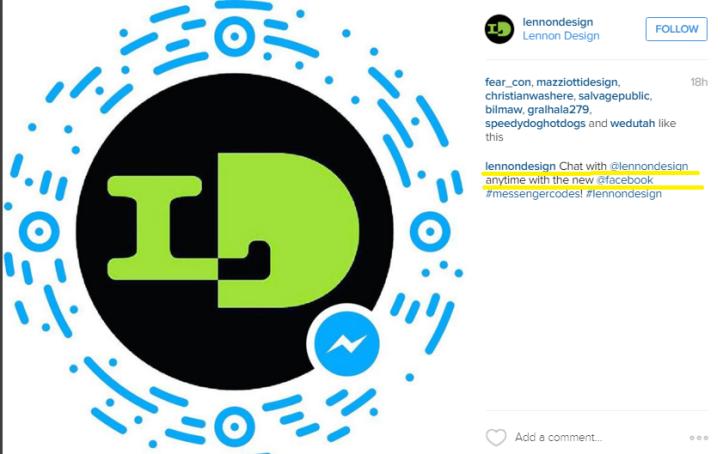 Using Messenger codes for business - Social Media tips