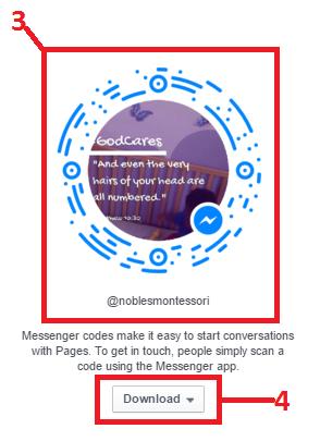 Messenger codes for business, Exact Media