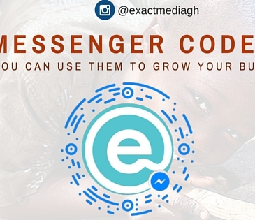 Messenger codes for business