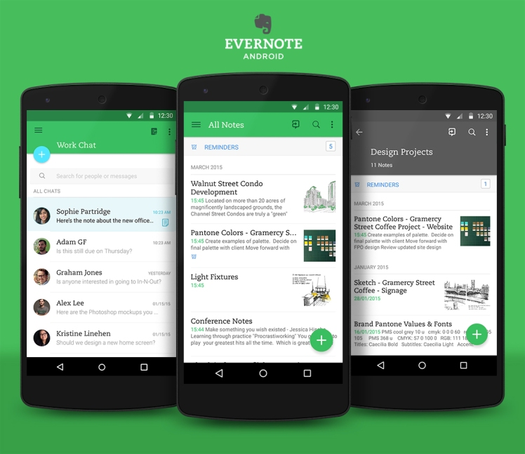 Evernote for productivity, free productivity tools, free smartphone apps for productivity