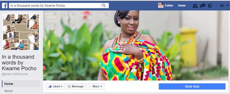 Boosting your business with Social Media by Esther Nyaadie. ExactMediaGh. Team 1000 words
