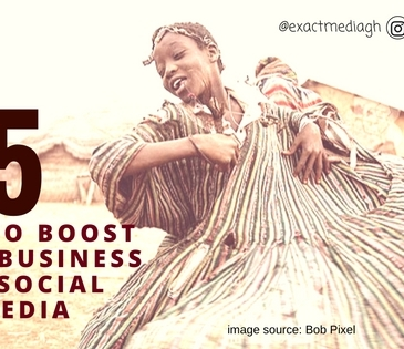 5 Tips to boost your business on Social Media. Esther Nyaadie