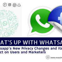 WHAT'S UP WITH WHATSAPP? Whatsapp's New Privacy Changes and Its Impact on Users and Marketers