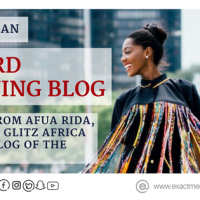 5 TIPS TO AN AWARD WINNING BLOG :            Lessons from Afua Rida winner of Glitz Africa Fashion Blog of the Year 2015