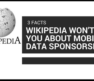 3 Facts Wikipedia won't tell you about Mobile data sponsorship