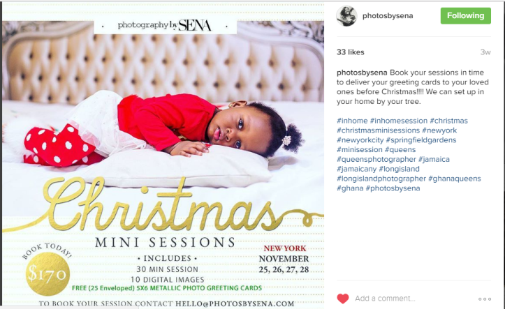 INCREASE YOUR CHRISTMAS SALES 3 Last-minute social media tactics you should bank on - Esther Nyaadie. Digital Nuggets