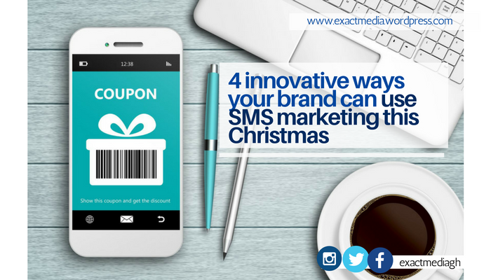 4 innovative ways your brand can use SMS marketing this Christmas