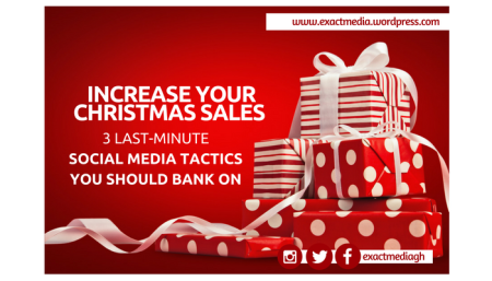 3 Last-minute social media tactics to increase your Christmas Sales