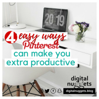 4 easy ways Pinterest can make you extra productive – part 1
