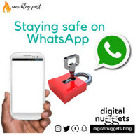 Staying safe on WhatsApp