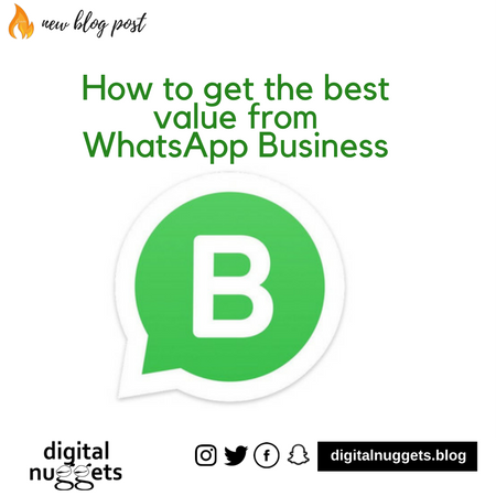 How to get the best value from WhatsApp Business